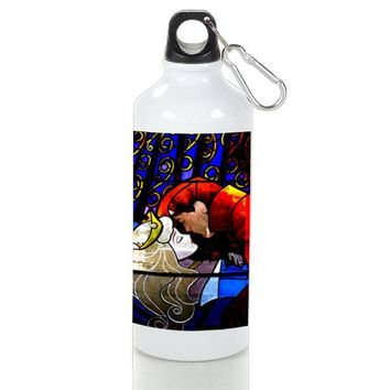 Gift Sport Bottles | Sleeping Beauty Stained Glasses Aluminum Sport Bottles