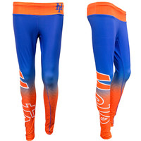 New York Mets Womens Gradient Official MLB Leggings