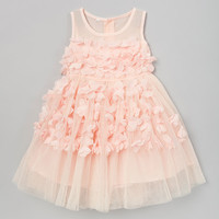 Light Pink Petal Dress - Infant, Toddler & Girls