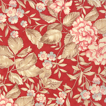 Papillon by 3 Sisters for Moda Fabrics, Scarlet, 407113