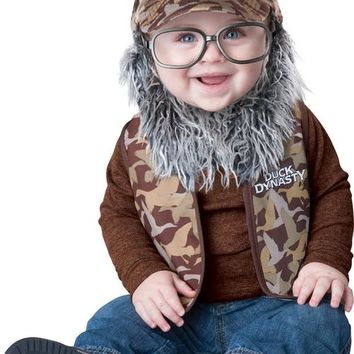 Duck Dynasty Uncle Si Toddler Costume 18 Months-2T