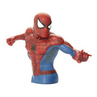 Spiderman Action Figure Bust Bank
