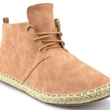 Women's Glory-4 Ankle High Espadrille Desert Boots