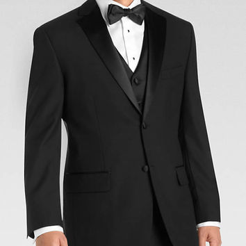 Wilke Rodriguez Black Modern Fit Tuxedo - Tuxedos | Men's Wearhouse