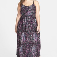 Plus Size Women's City Chic 'Nice and Cool' Sleeveless Maxi