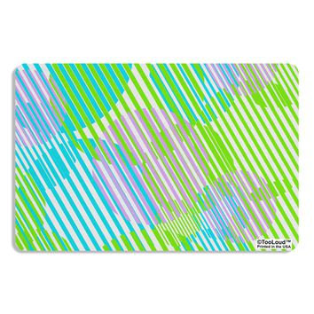 Geometric Circles Pattern AOP Placemat All Over Print by TooLoud