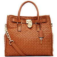 MICHAEL Michael Kors MICHAEL Michael Kors  Hamilton Large Woven Tote - Michael Kors