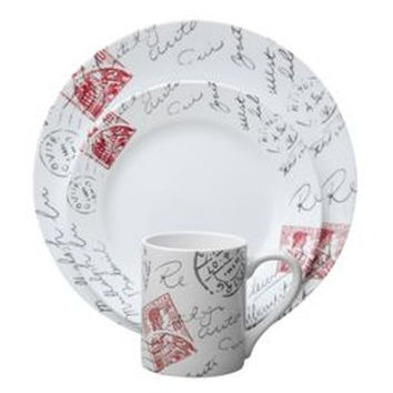 Corelle Impressions Sincerely Yours 16-pc Dinnerware Set