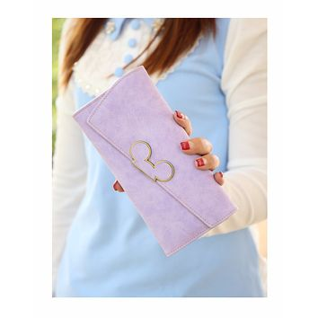 DUDINI High Fashion Women Wallet Scrub Hit Color Lnclined Lid Ladies Wallet Creative Design Hasp Clutch Coin Pocket Card Holder