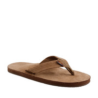 J.Crew Men's Rainbow Leather Flip-Flops
