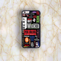 Dream colorful Dream colorful Wicked A New Musical Plastic Case Cover for Apple iPhone 6 Plus 4 4s 5