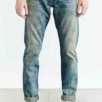 3x1 M5 Tobacco Low-Rise Slim Selvedge Jean- Light Blue