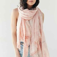Ecote Marbled Beach Oblong Scarf