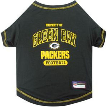 Green Bay Packers Pet Shirt XS