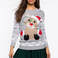 Baby Reindeer Holiday Sweater