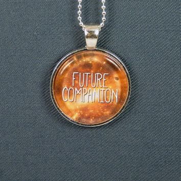Future Companion Necklace - Doctor Who - Photo Jewelry