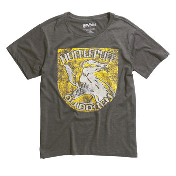 Harry Potter Hufflepuff Quidditch Tri-Blend T-Shirt