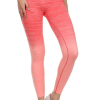Ombre Athletic Leggings - 4 Colors