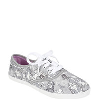 Disney Alice In Wonderland Grey Lace-Up Sneakers