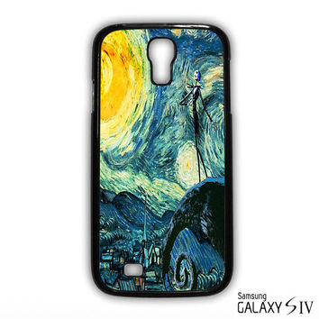 Nightmare Before Christmas Art Van Gogh for phone case Samsung Galaxy S3,S4,S5,S6,S6 Edge,S6 Edge Plus phone case