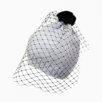 New Look Gray Beanie With Mesh - Choies.com