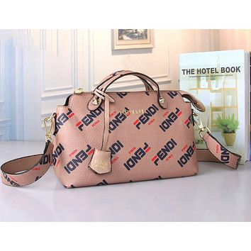 FENDI Trending Women Stylish Leather Handbag Tote Shoulder Bag Crossbody Satchel