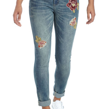 TRUE CRAFT Floral Patch Jean