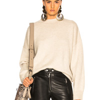 BEAU SOUCI Sinner Sweater in Dusty White | FWRD