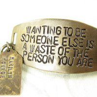 Wanting to be someone else is a waste of the by CobwebCorner