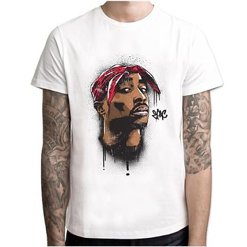 tu 2pac Snoop Dogg J Cole biggie jay-z 21 Savage Hip Hop T-Shirt t shirt rapper Men T Shirts HipHop rap Tee music tshirt male