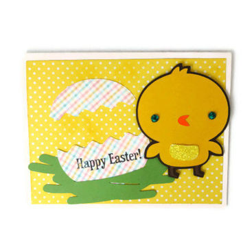 Chick Easter Card Easter Egg Easter Card