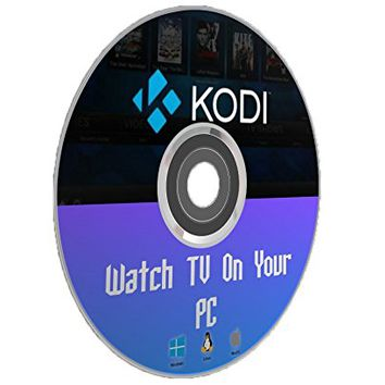 Kodi 17 TV Media Center Install CD & Usage Manual Guide Mac Windows PC Linux