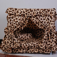 Luxury Princess Dogs Cat Pet Bed House Handmade  Gorgeous 5 Design In Stock