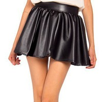 Leatherette Mini Skirt - 2020AVE