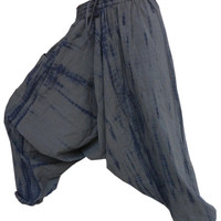tie & dye harem pant ,drop crotch pant, Harem Pants, Hippy Hippie Pants , Boho Gypsy Pants , holiday pants,beach wear pants Yoga Pants