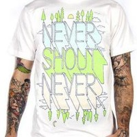 ROCKWORLDEAST - Never Shout Never, T-Shirt, Morning To Evening