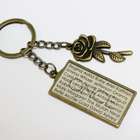 OUAT Names Key Chain