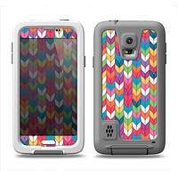 The Color Knitted Samsung Galaxy S5 LifeProof Fre Case Skin Set