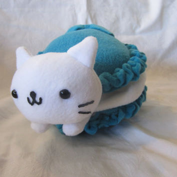 Nyan Nyan Nyanko Cat Macaroon Plush by SweetCherryDelights on Etsy