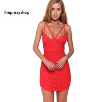 Lacey Little Red Dress