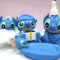 BATH SET OF 4 pcs LILO & STITCH.