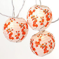 Cherry Blossom Lantern String Lights - String Lights - Cost Plus World Market