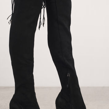 Dolce Vita Chance Knee High Heeled Boots