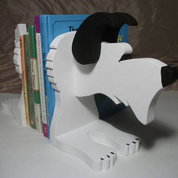 Scottie Bookend Made to order by fernfIower on Etsy