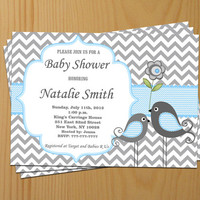 Printable Baby Shower Invitation Boy Baby Shower invitation Baby Boy Shower Invitation - FREE Thank You Card - editable pdf Download (1421)