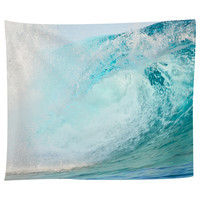 Surfing Wave Breaking Tapestry