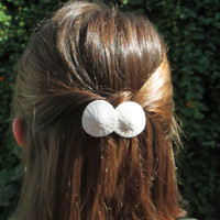 Sand Dollar Duo Barrette