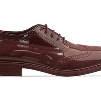 Vivienne Westwood Anglomania Brogue Plastic in Red at Solestruck.com