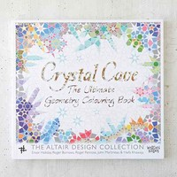Crystal Cave: The Ultimate Geometric Coloring Book By Ensor Holiday, Roger Burrows, Roger Penrose, John Martineau & Haifa Khawaja