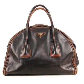 Prada Large Brown Bag